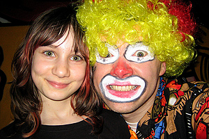 Fasching Clown